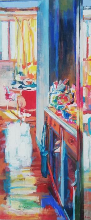 Roberto |Pintura de Angeli Rivera | Compra arte en Flecha.es
