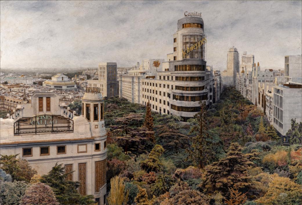 La Ciudad Descubierta |Fotografía de Carlos Arriaga | Compra arte en Flecha.es