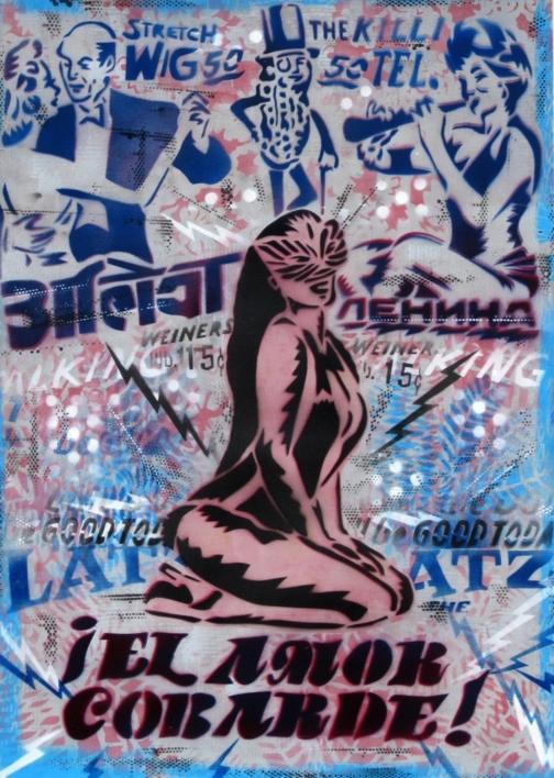 El Amor Cobarde  Pintura de Carlos Madriz   Compra arte en Flecha.es
