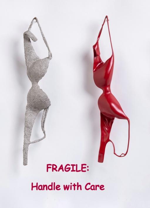 FRAGILE: Handle with care | Escultura de Patricia Glauser | Compra arte en Flecha.es