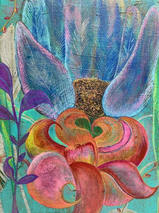 Floro |Pintura de Mo Barretto | Compra arte en Flecha.es