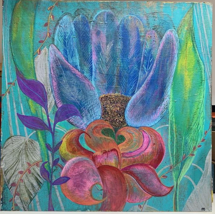 Floro | Pintura de Mo Barretto | Compra arte en Flecha.es
