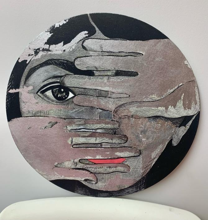 Fonca |Pintura de Mo Barretto | Compra arte en Flecha.es