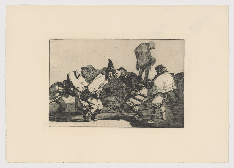 Disparates. Disparate de carnaval (Estampa 14) |Obra gráfica de Francisco de Goya y Lucientes | Compra arte en Flecha.es