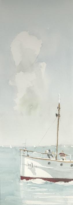 Zarpando |Pintura de Iñigo Lizarraga | Compra arte en Flecha.es