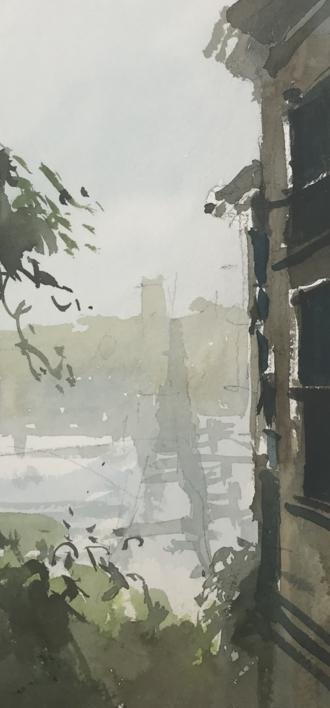 San Francisco |Pintura de Iñigo Lizarraga | Compra arte en Flecha.es