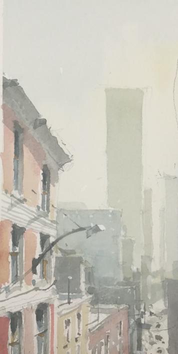 Buildings |Pintura de Iñigo Lizarraga | Compra arte en Flecha.es