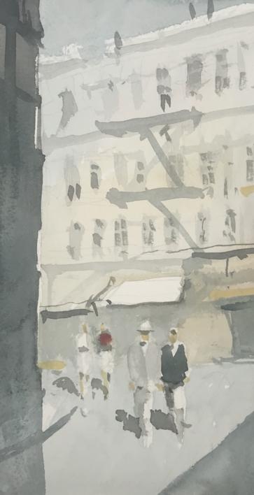 Calles |Pintura de Iñigo Lizarraga | Compra arte en Flecha.es