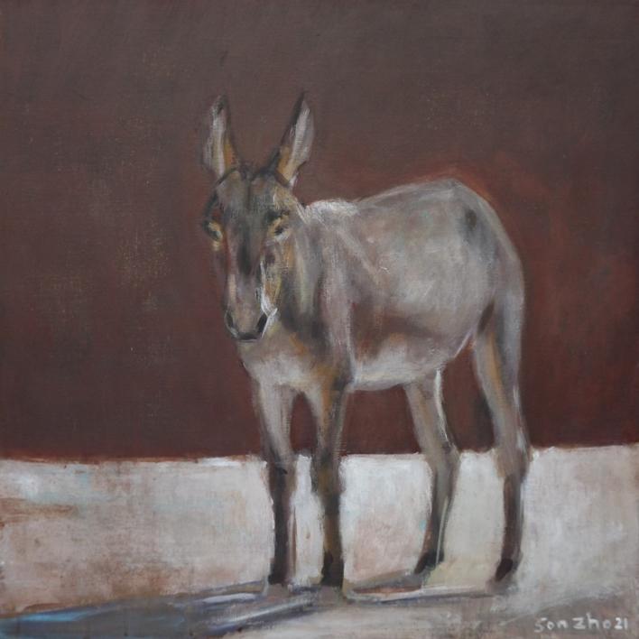 En Moguer |Pintura de Gonzho | Compra arte en Flecha.es
