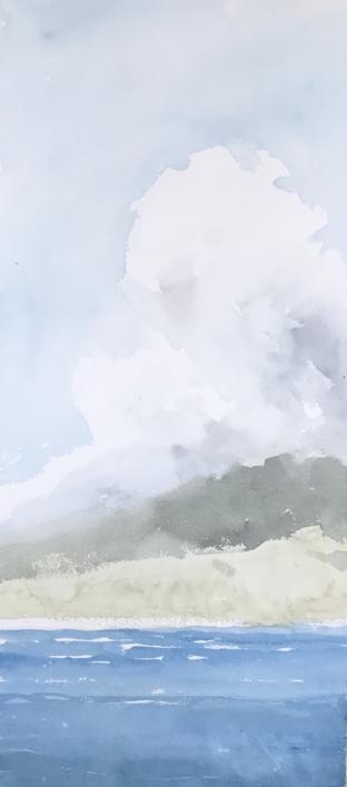 Tormenta  Pintura de Iñigo Lizarraga   Compra arte en Flecha.es