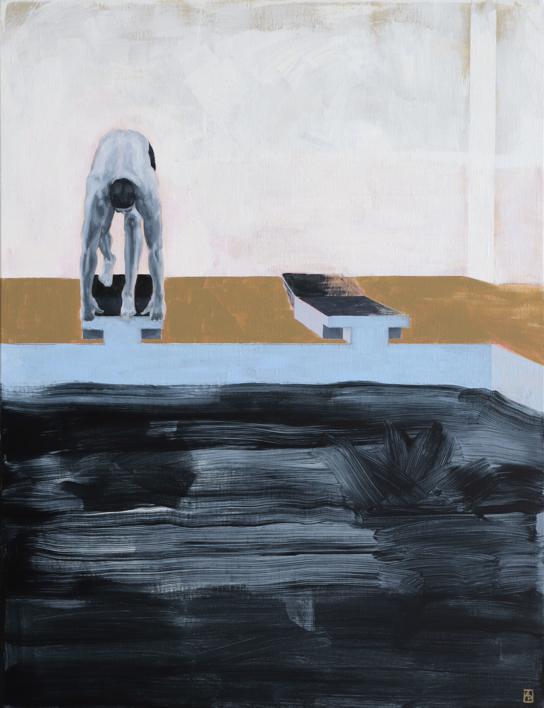 El principio del fin |Pintura de Ana Patitú | Compra arte en Flecha.es