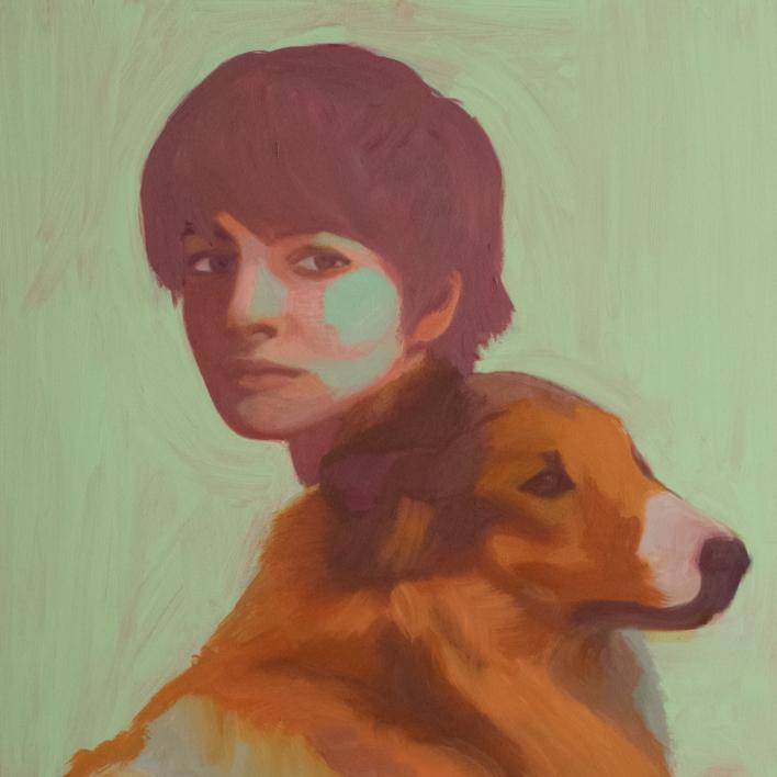 Dos de Cinco  Pintura de Irene Marzo   Compra arte en Flecha.es