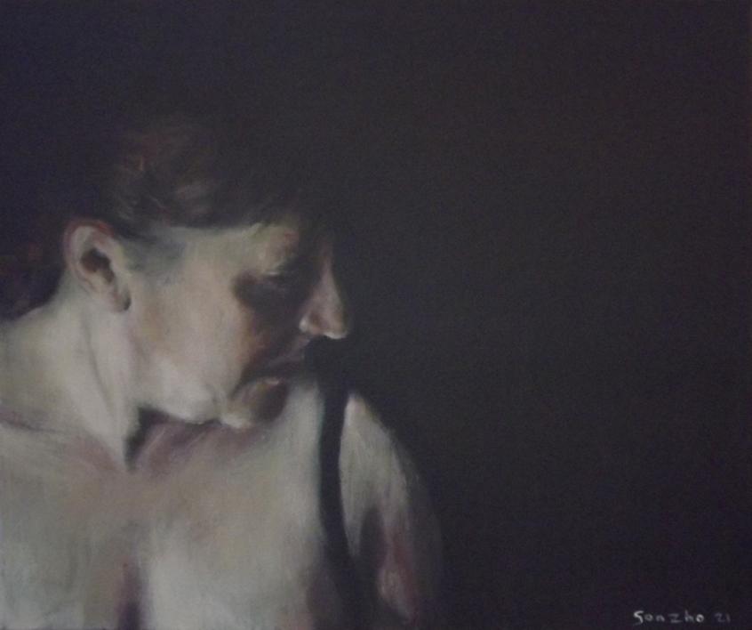 Desde abajo II |Pintura de Gonzho | Compra arte en Flecha.es