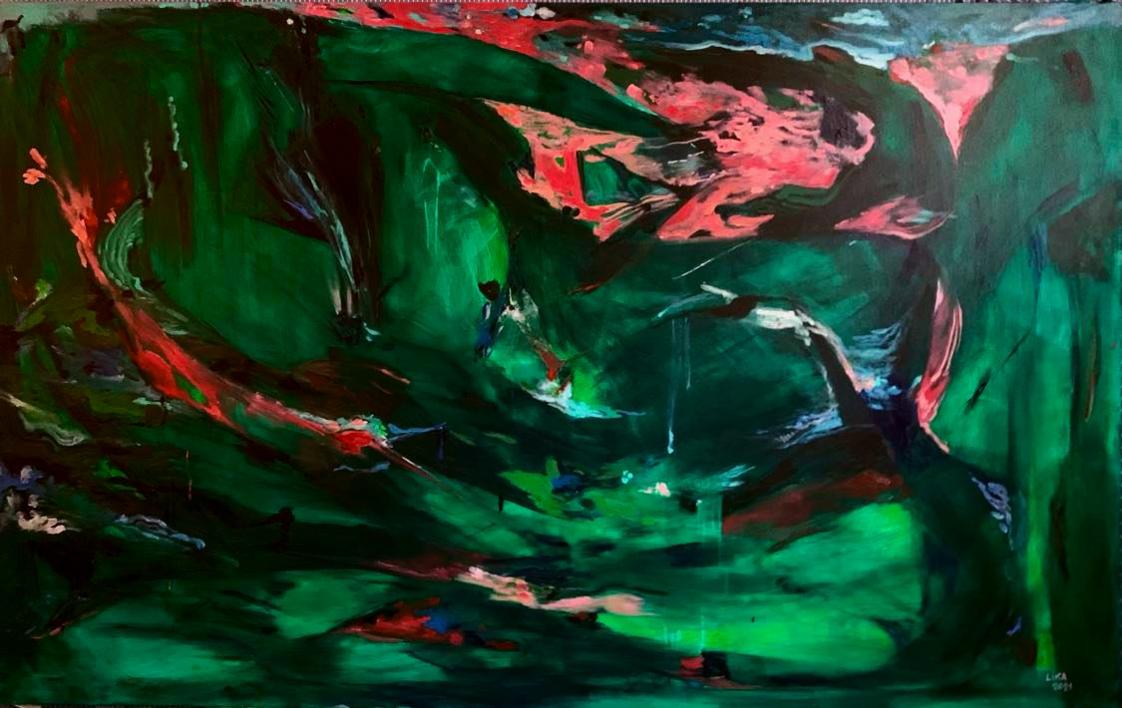 Primavera |Pintura de Lika Shkhvatsabaia | Compra arte en Flecha.es