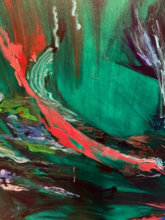 Primavera | Pintura de Lika Shkhvatsabaia | Compra arte en Flecha.es