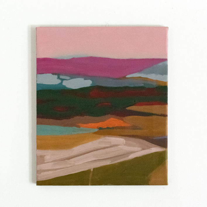 Nunca estuve allí III |Pintura de Irene Marzo | Compra arte en Flecha.es