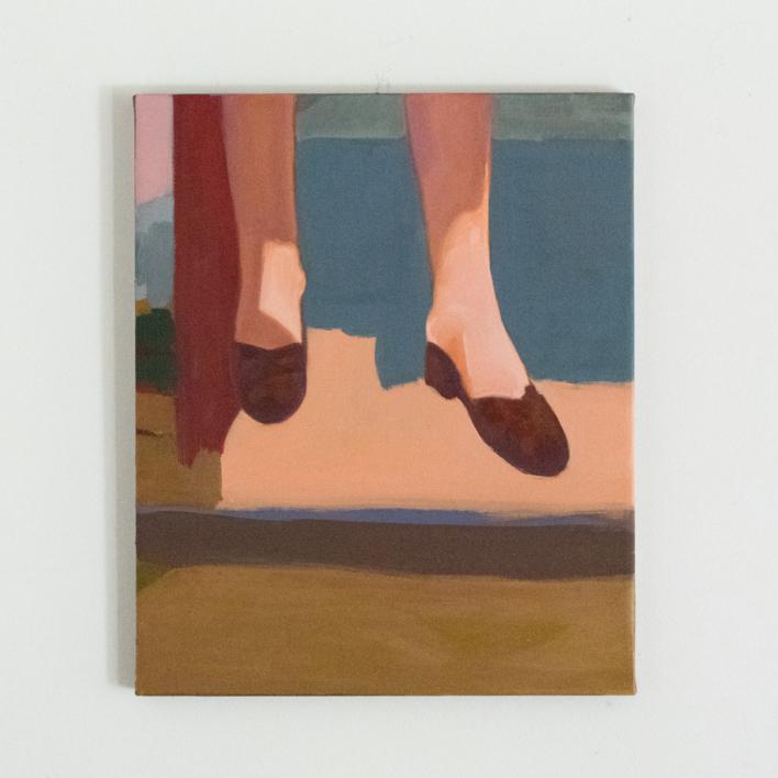 Nunca estuve allí IV |Pintura de Irene Marzo | Compra arte en Flecha.es