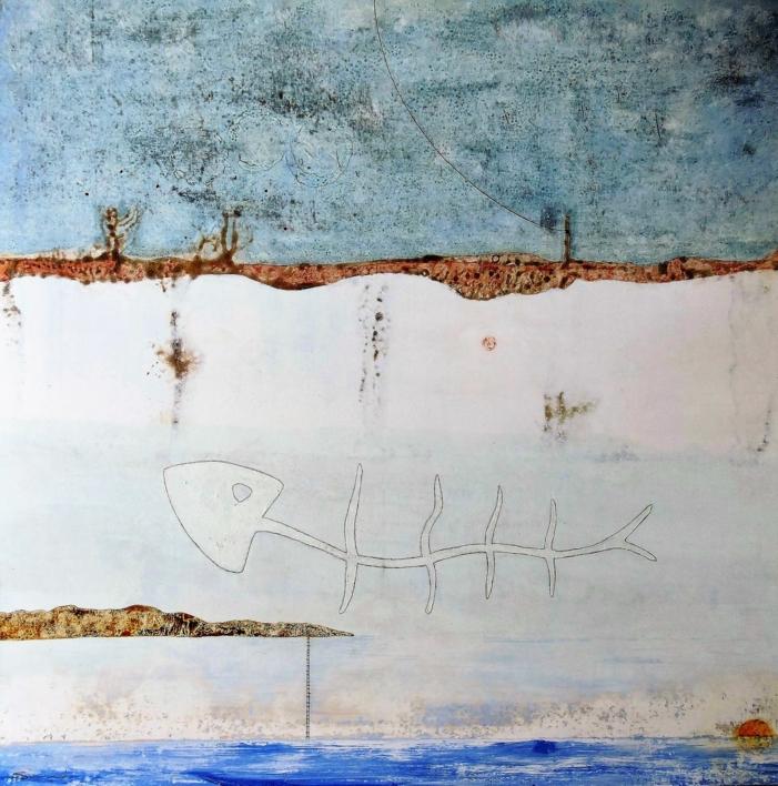Peixet |Pintura de Siuro | Compra arte en Flecha.es