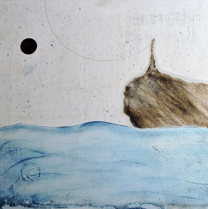 Mare Nostrum  Pintura de Siuro   Compra arte en Flecha.es