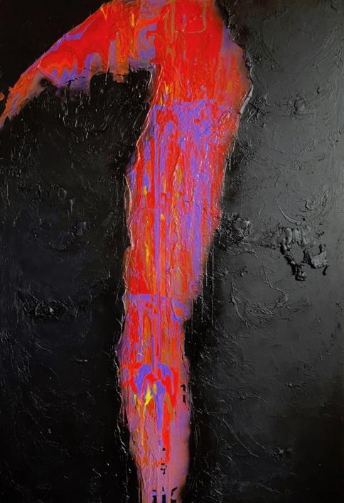 INICIACIÓN |Pintura de ALFREDO MOLERO DOVAL | Compra arte en Flecha.es