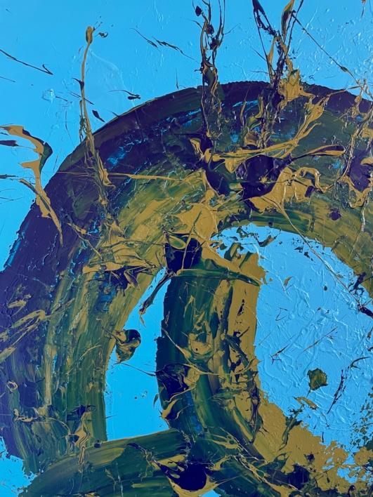 AZUL Y ÉTER | Pintura de ALFREDO MOLERO DOVAL | Compra arte en Flecha.es