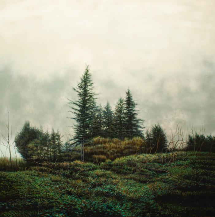 Bosque |Pintura de Bartolomé Junquero | Compra arte en Flecha.es