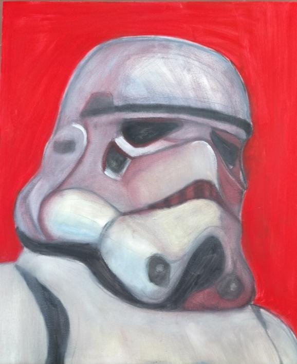 El dentista |Pintura de OliverPlehn-Artist | Compra arte en Flecha.es