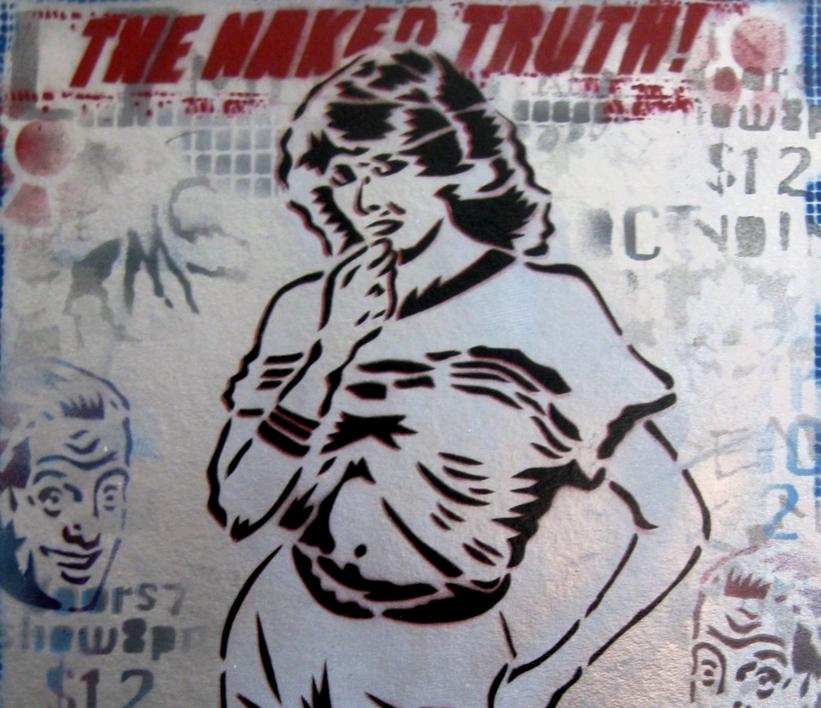 The Naked Truth   Pintura de Carlos Madriz   Compra arte en Flecha.es