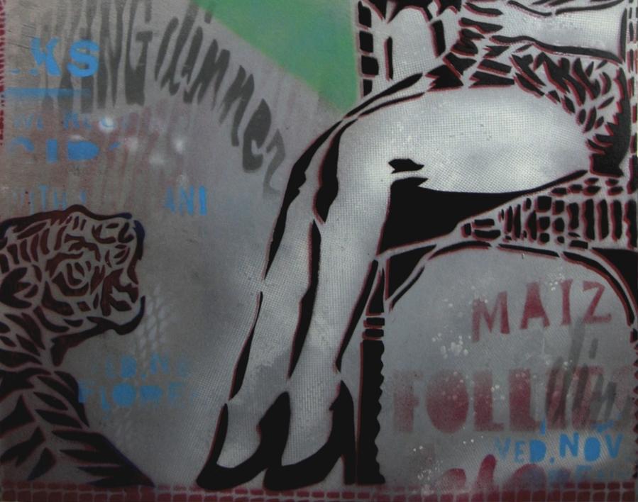 Adiós Caminito Verde   Pintura de Carlos Madriz   Compra arte en Flecha.es