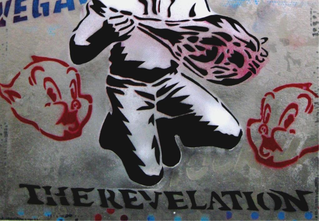 The Revelation | Pintura de Carlos Madriz | Compra arte en Flecha.es