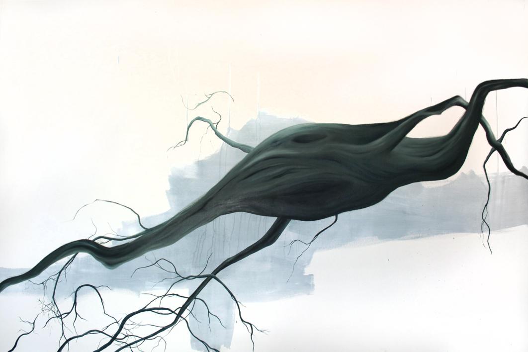 Raíces #02 |Pintura de Aya Eliav | Compra arte en Flecha.es