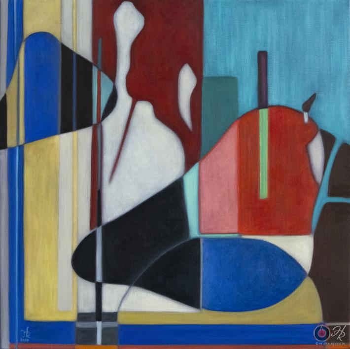 Taurus |Pintura de Helena Revuelta | Compra arte en Flecha.es