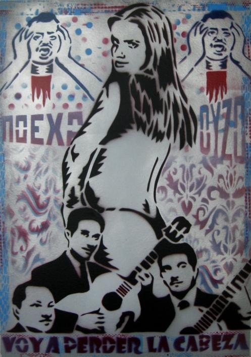 Voy  A  Perder La Cabeza |Pintura de Carlos Madriz | Compra arte en Flecha.es