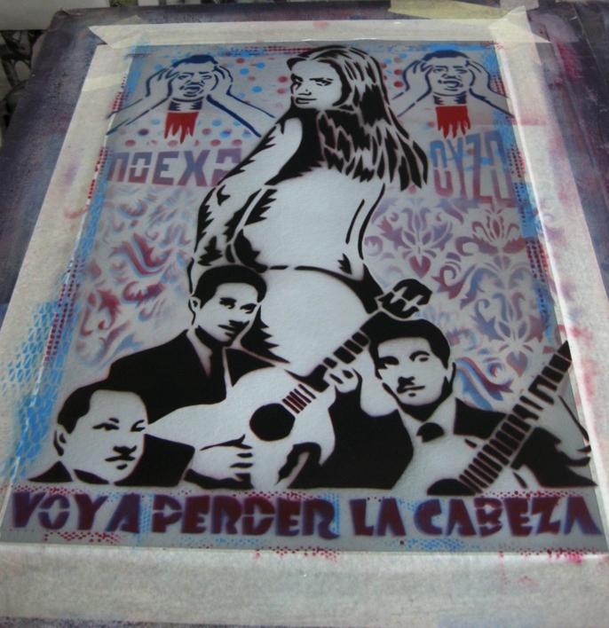 Voy  A  Perder La Cabeza | Pintura de Carlos Madriz | Compra arte en Flecha.es