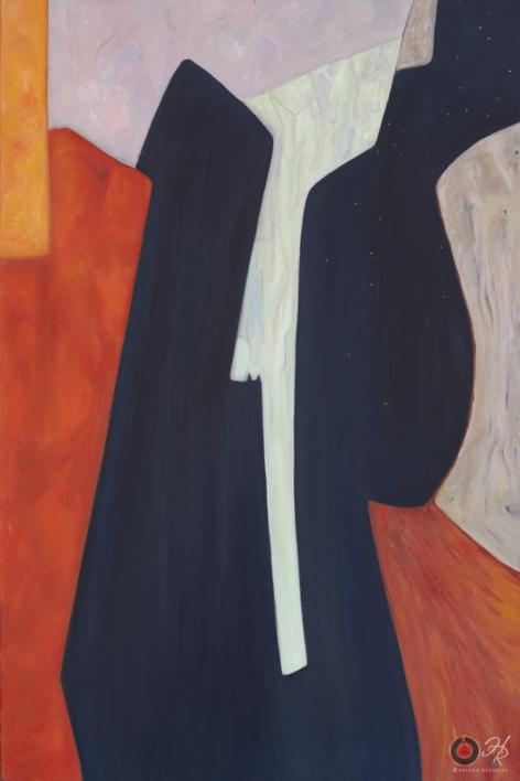 Abstract Composition 9 |Pintura de Helena Revuelta | Compra arte en Flecha.es