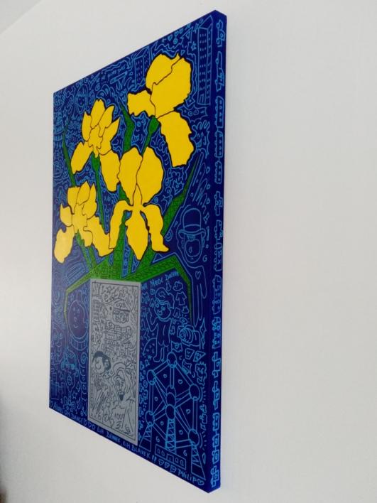BXL   Pintura de Philip Verhoeven   Compra arte en Flecha.es
