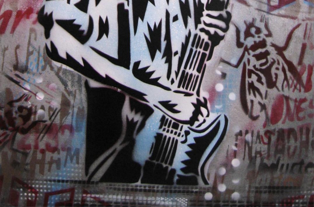 The Last Days Of Combat Rock Vol.2 | Pintura de Carlos Madriz | Compra arte en Flecha.es