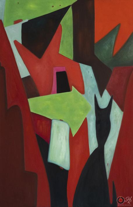 Abstract Composition 10 |Pintura de Helena Revuelta | Compra arte en Flecha.es