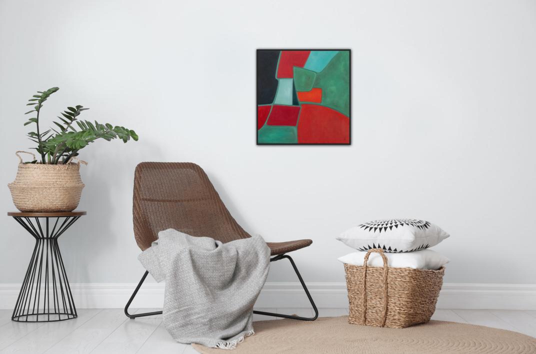 Abstract Composition 4   Pintura de Helena Revuelta   Compra arte en Flecha.es