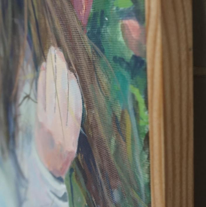 En el Jardín | Pintura de Amaya Fernández Fariza | Compra arte en Flecha.es