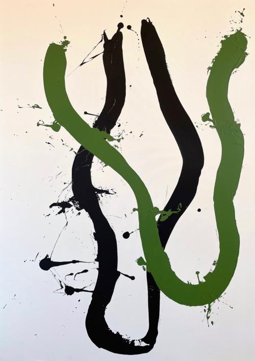 FLOTANDO |Pintura de ALFREDO MOLERO DOVAL | Compra arte en Flecha.es