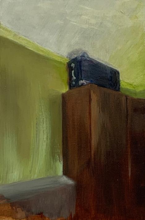 On the closet  Pintura de ODETTE BOUDET   Compra arte en Flecha.es