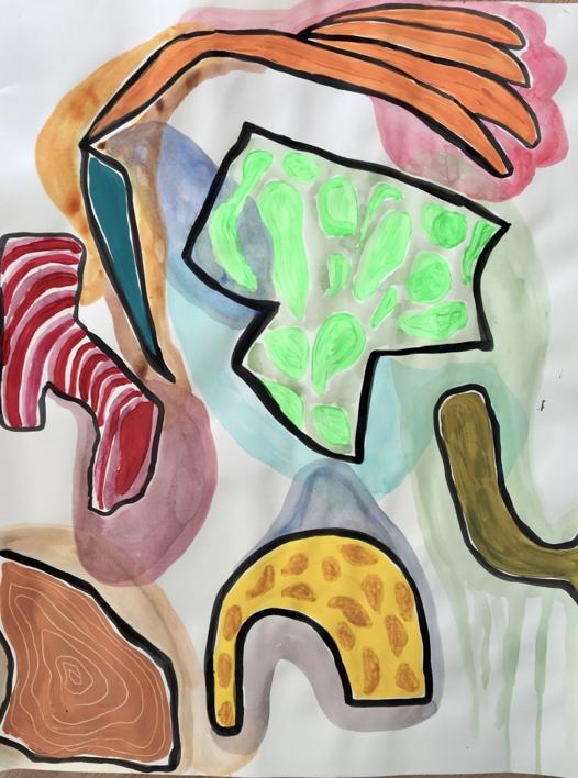 Raspberry barrette |Dibujo de Lisa | Compra arte en Flecha.es