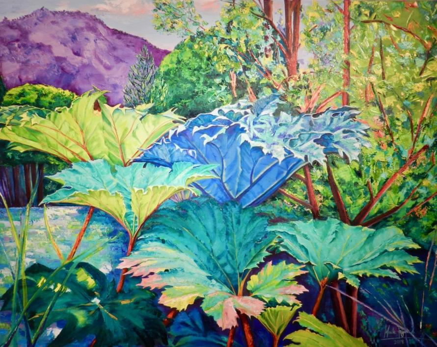 Curacautin |Pintura de Maite Rodriguez | Compra arte en Flecha.es