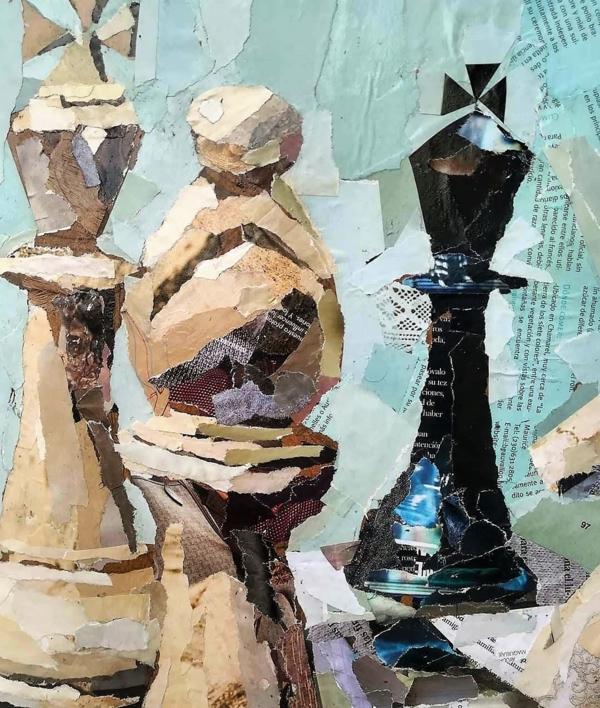 End   Collage de Amador Sevilla   Compra arte en Flecha.es