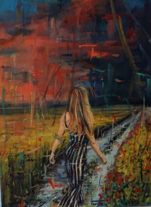 El camino |Pintura de Amaya Fernández Fariza | Compra arte en Flecha.es