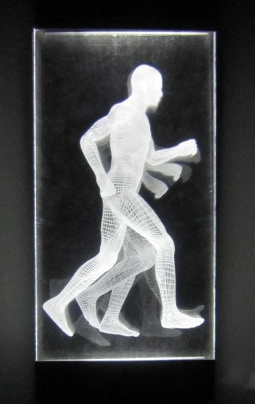 Muybridge  - Carrera |Dibujo de David Ortega | Compra arte en Flecha.es