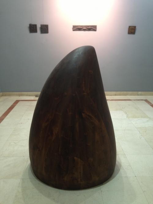 Crono-cuerno |Escultura de Cristóbal | Compra arte en Flecha.es