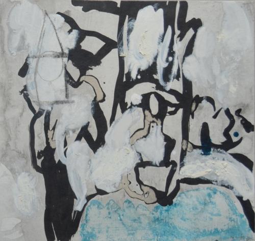 El Señor y la Señora Andrews (cartón I) |Pintura de Celia Muñoz | Compra arte en Flecha.es