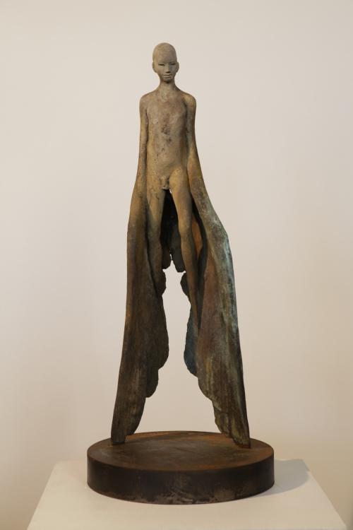 Icaro III  Escultura de Jesús Curiá   Compra arte en Flecha.es